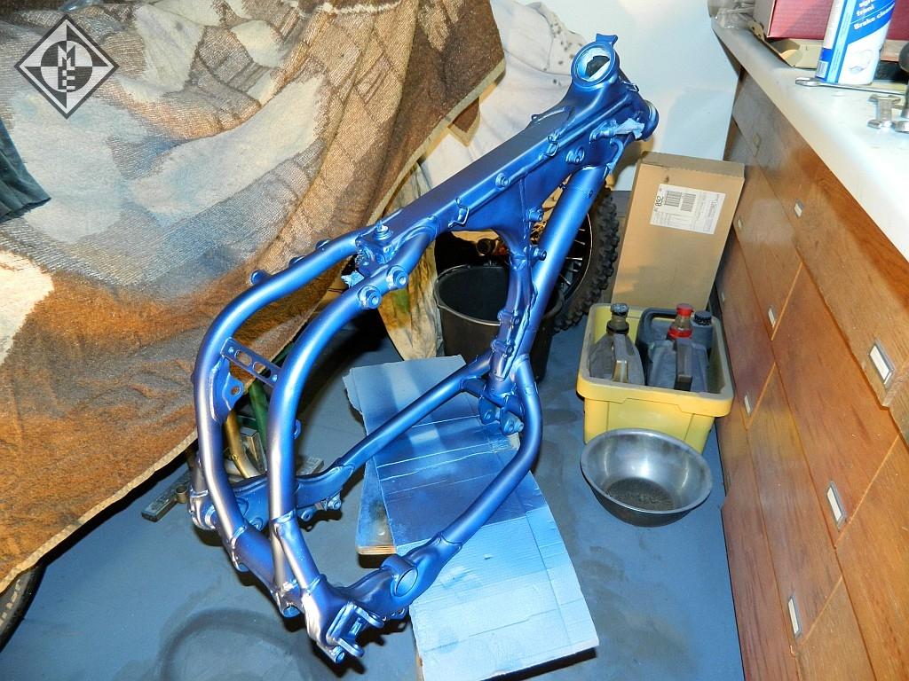 Rahmen YZ250F